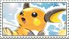 Raichu Stamp by FireFlea-San