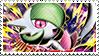 Mega Gardevoir Stamp by FireFlea-San