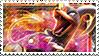 Houndoom Stamp by FireFlea-San