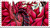 Black Rose Dragon Stamp by FireFlea-San