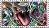 Shiny Rayquaza stamp by FireFlea-San