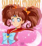 Xmas Gift- Sailor Giga Starbust Bust by FireFlea-San