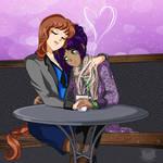 CO- Cafe Love by FireFlea-San