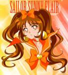 CO- Sailor Sunny Flair by FireFlea-San