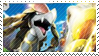 Kommo-o Stamp by FireFlea-San