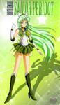 Birth Senshi Sailor Peridot by FireFlea-San