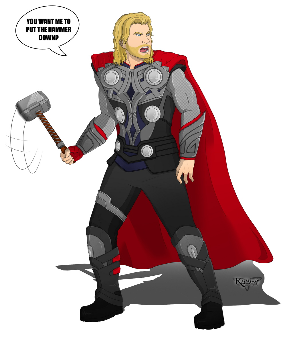 :CM: Thor by Kallian91