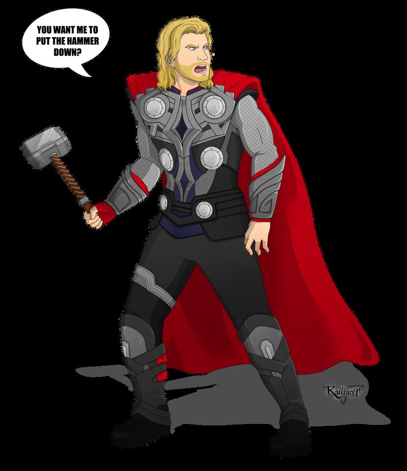 :CM: Thor by Kallian91