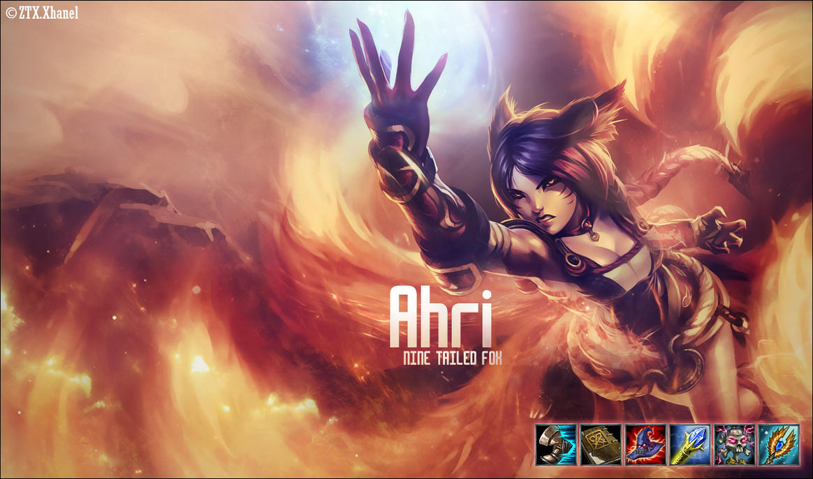 Foxfire Ahri Wallpaper - Viewing Gallery