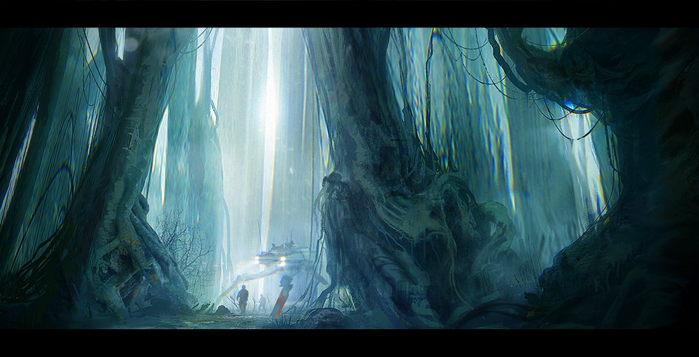 Patrol in the woods by ldimonl
