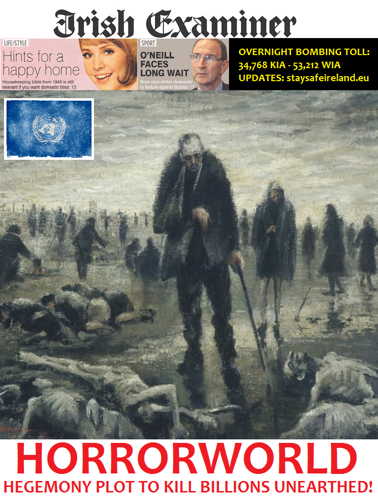 WW3 Media: Horrorworld by peacekeeper76