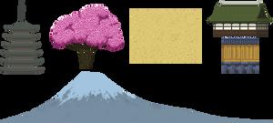 Senjin: Background elements