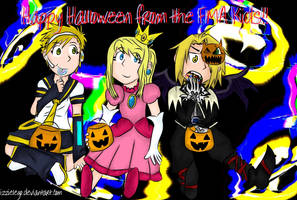 Happy FMA Halloween by Izzielego