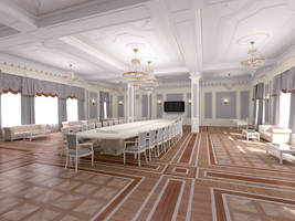 Conference hall by i-t-h-i-l