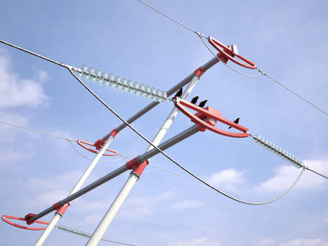 Part of power line