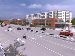 Project of shopping center N2