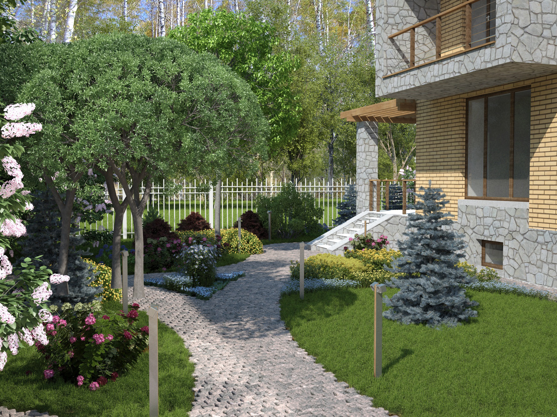 The backyard garden  Cam N2