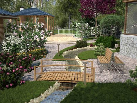 The backyard garden  Cam N1