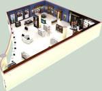 perspective floor plan