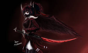 Grimm Raven. (RWBY)