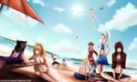Beach Day by massam-16