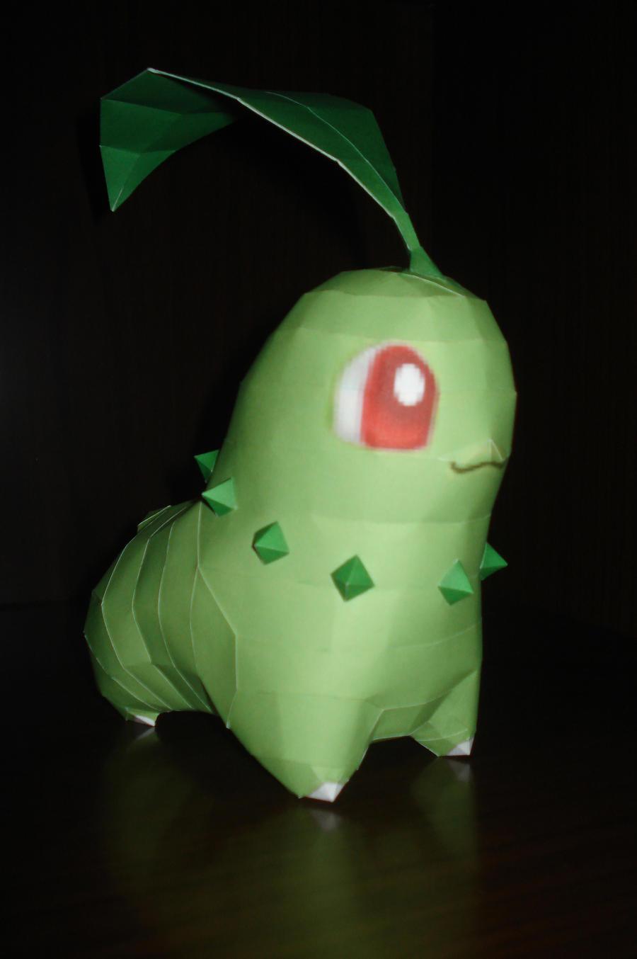 Chikorita - Green bean pokemon by Carnilmo