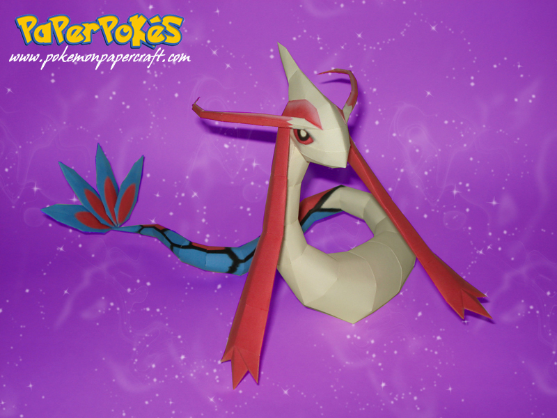 Milotic Papercraft by Carnilmo