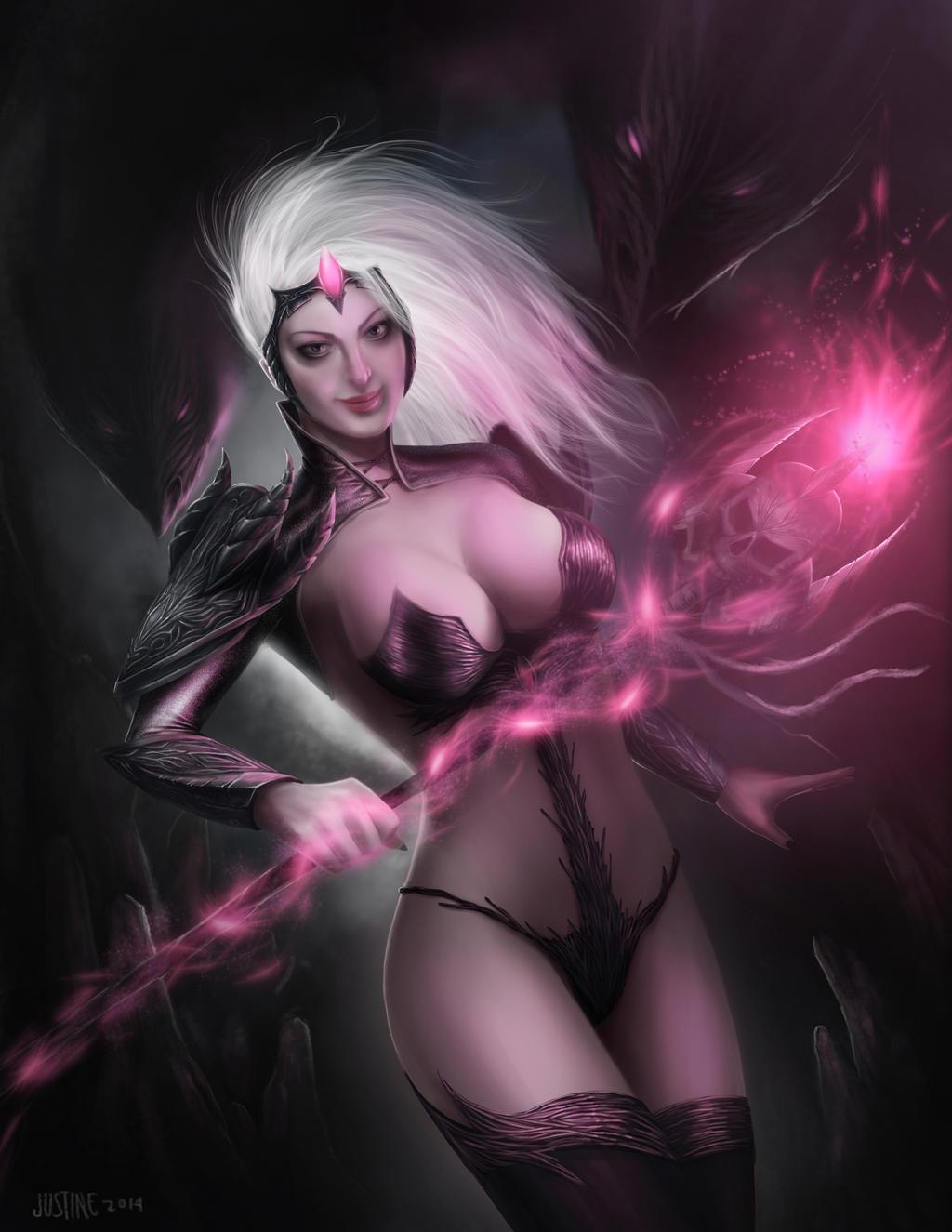 Dark Fantasy by JustineTutubi