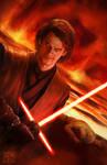 Star Wars Anakin Skywalker and Obi-wan commission