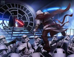 Assassin's creed , Star Wars crossover fan art