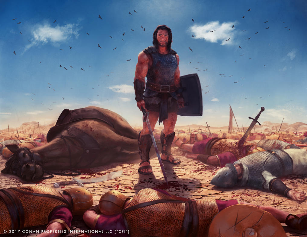 Illustration for Conan Boardgame by JustineTutubi