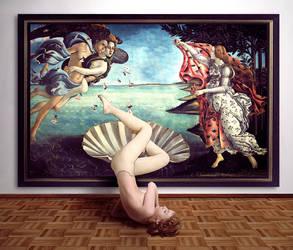 Botticelli's Venus got bored by yayu