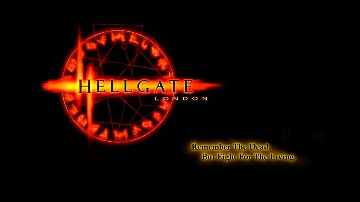 Hellgate London Logo With Tagline Widescreen Hellgate