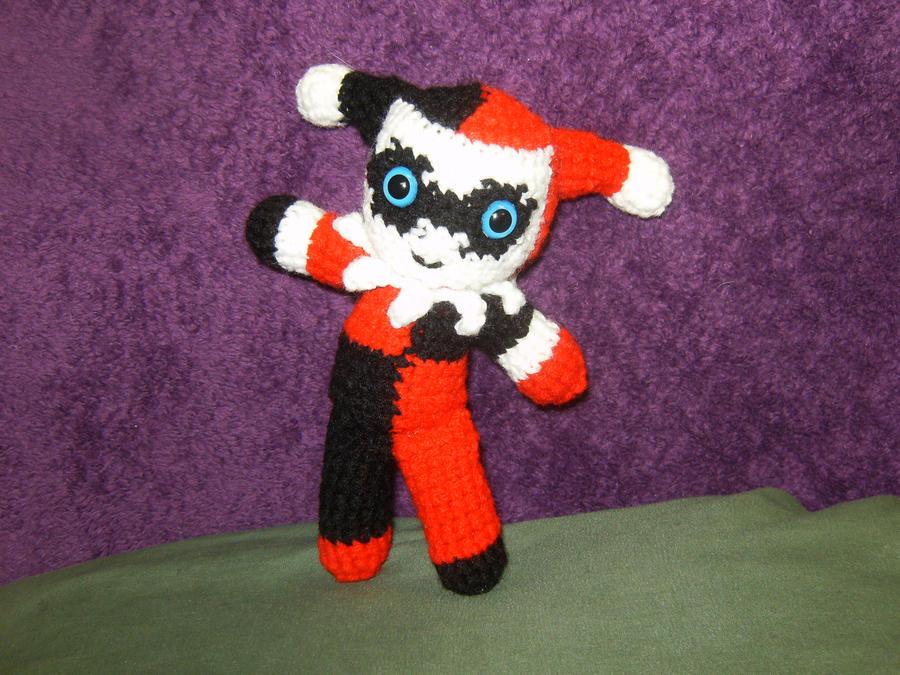 Amigurumi Harley Quinn : Amigurumi Harley Quinn by Aries-on-Mars on DeviantArt