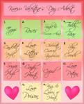 [OPEN+RAFFLE!] Kraesu Valentine's Advent Calender!