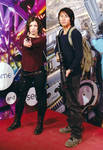 Maggie Greene and Glenn Rhee by AriTeach