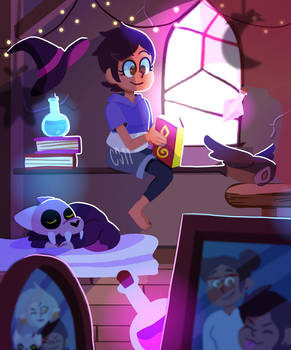Luz's study time