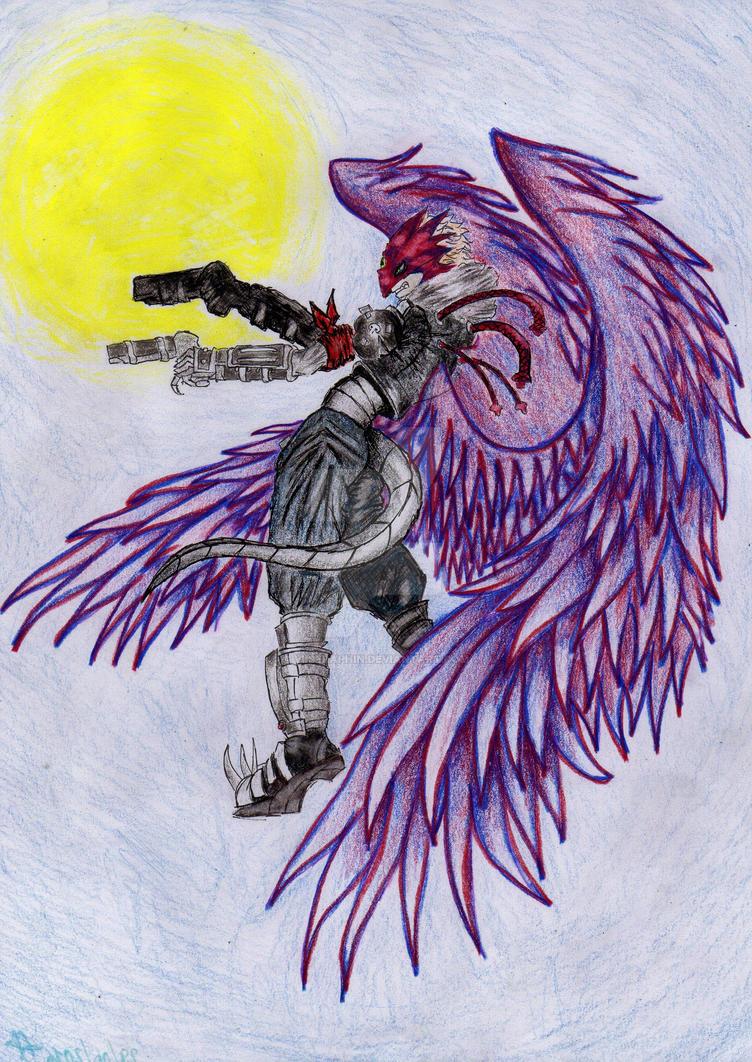 Beelzemon FanArt by VIISeraphin