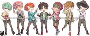 BTS - RUN_CHIBI.