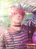 JIMIN_SPRING DAY. by MaewenMitzuki