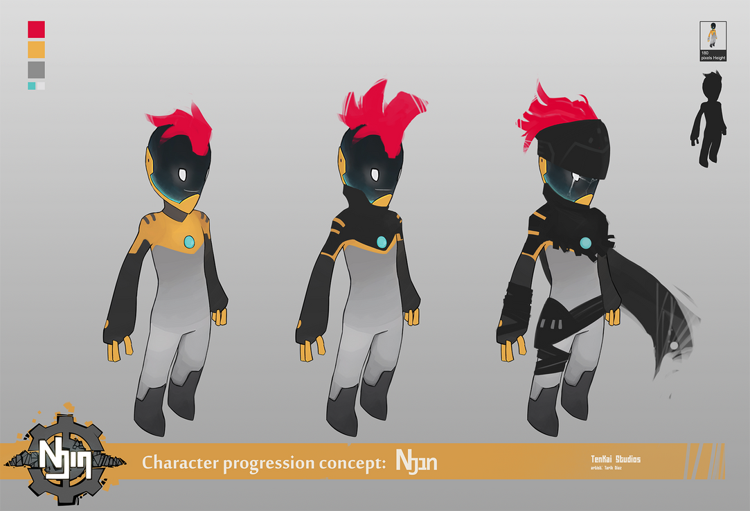 New character progression by Blindconcept