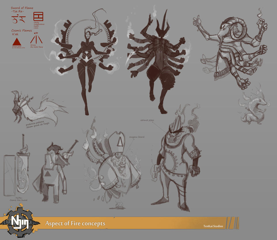 Aspect of fire concepts 02 by Blindconcept