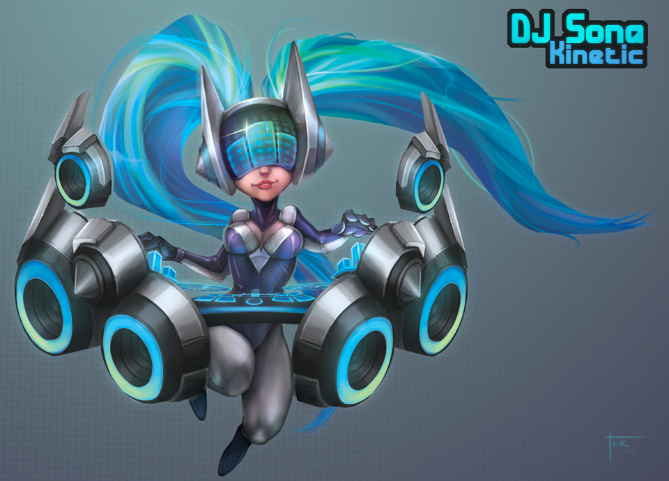 Sona - League of Legends chibi collection by Blindconcept