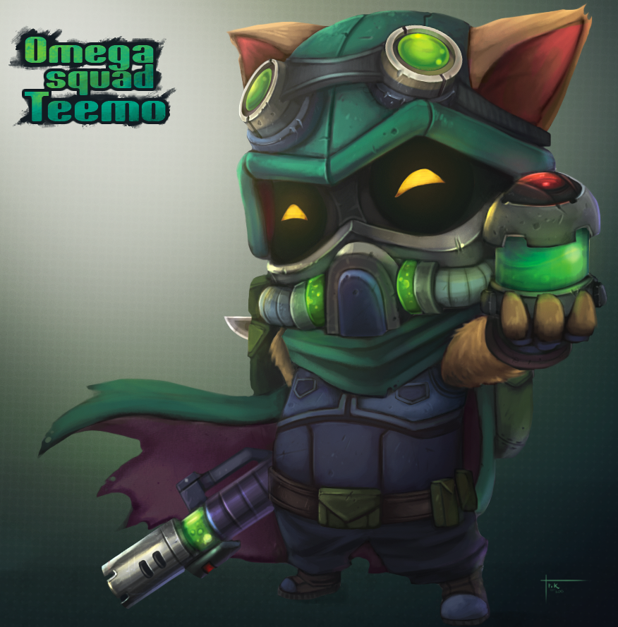 Teemo - League of Legends Chibi collection. by Blindconcept