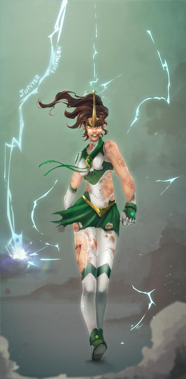 Sailor Jupiter by Blindconcept