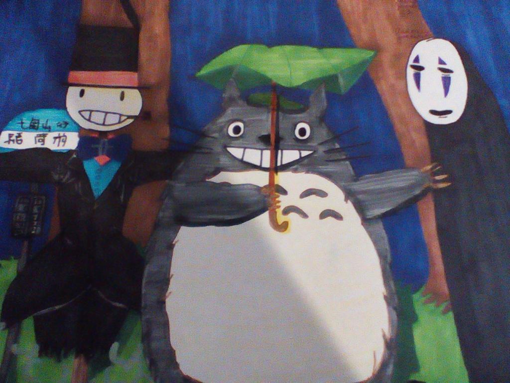 Miyazaki characters by AudreyJoanS63