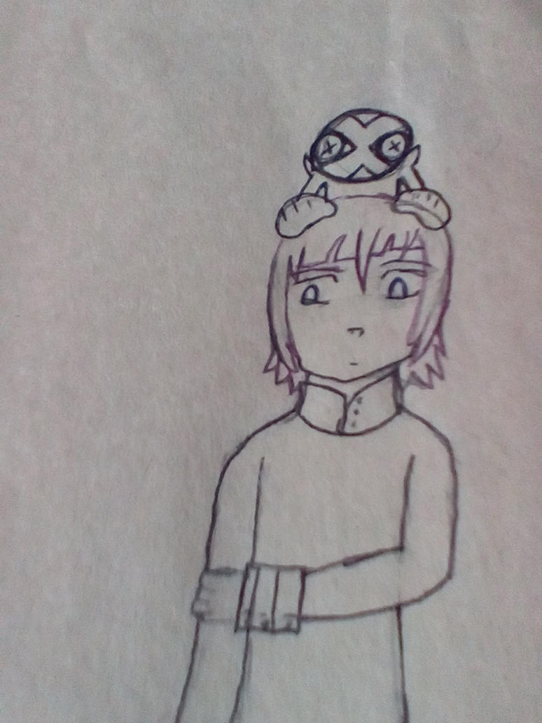 Crona Gorgon Sketch by AudreyJoanS63