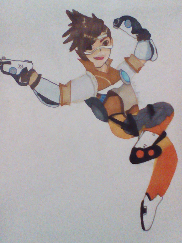Tracer Overwatch by AudreyJoanS63