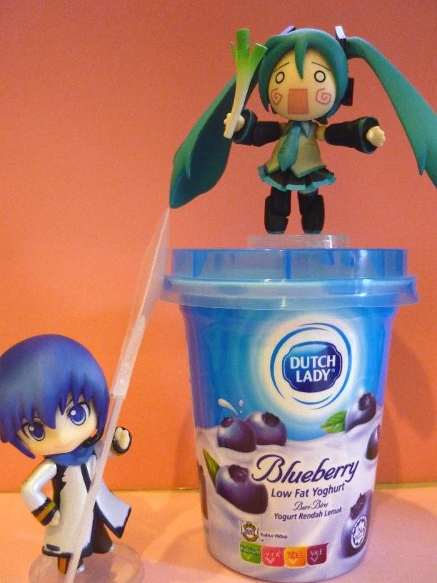 Kaito Chibi Figure Chibi miku   kaito  yogurt verKaito Chibi Figure