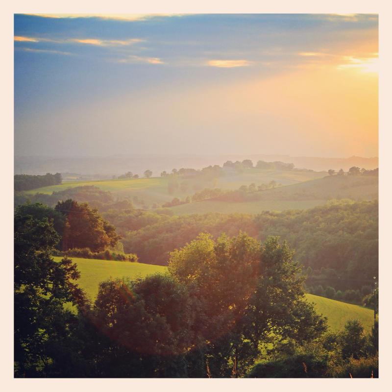 Coucher de soleil en juin by arnopiel